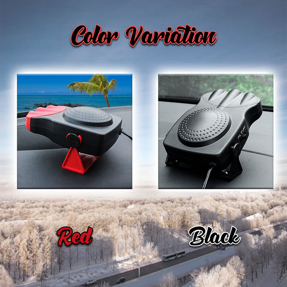 CoolDefog Car Heater Fan
