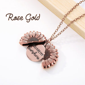SunnyLove Sunflower Necklace