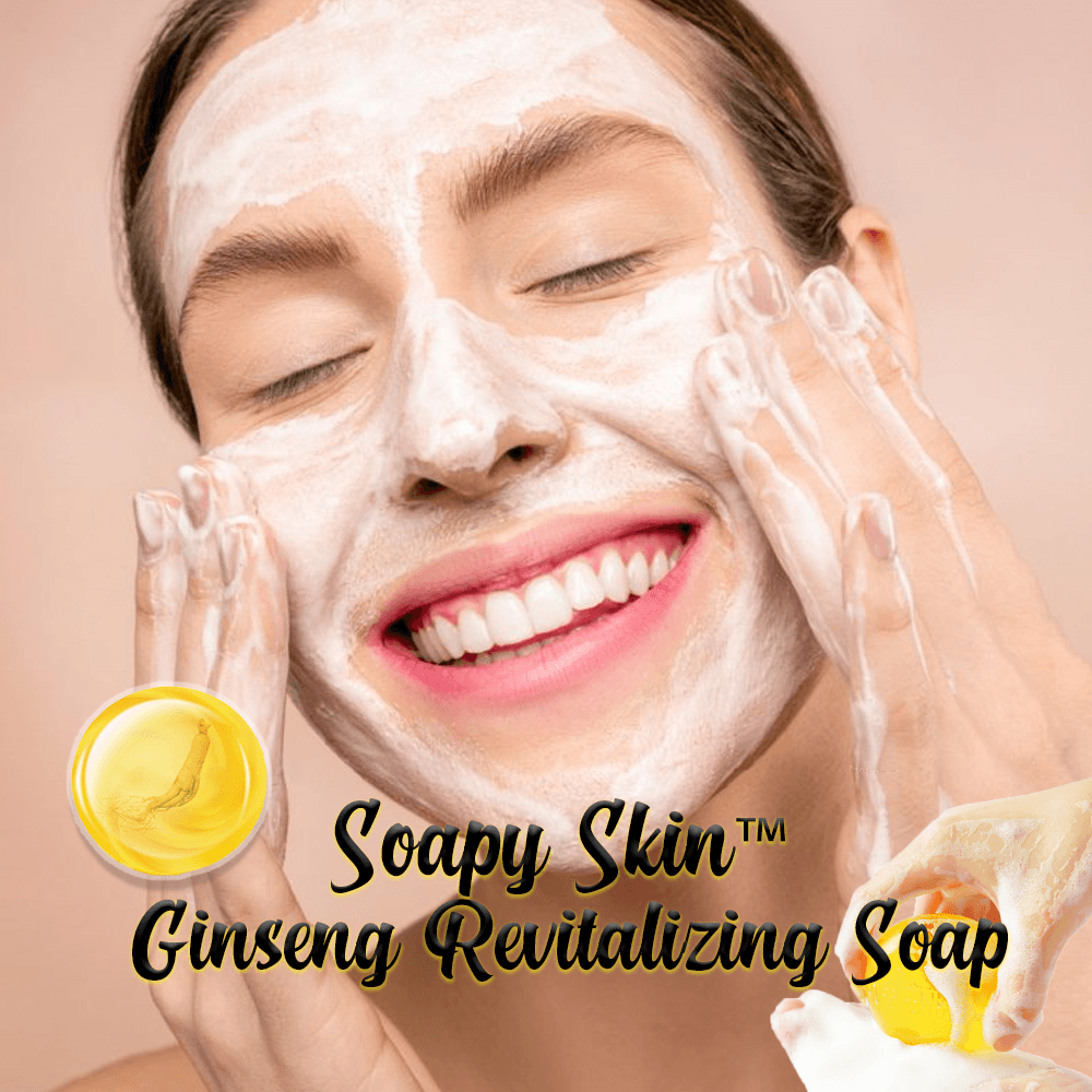 Soapy Skin™ Ginseng Revitalizing Soap