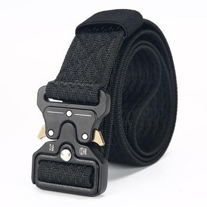 Apparel & Accessories > Clothing Accessories > Belt Buckles - DWTS Tactical Outdoor Military Canvas Belt Men's Military Nylon Army Belts