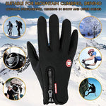 Apparel & Accessories > Clothing Accessories > Gloves & Mittens - Men's Women's Tactical  Winter Warmer Gloves Touch Screen Enable Anti-Slip Gloves For Outdoor Sports