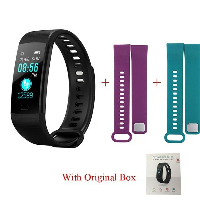 Apparel & Accessories > Jewelry > Watch Accessories > Watch Bands - Waterproof Fitness Tracker Watch