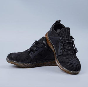 Apparel & Accessories > Shoes - Indestructible And Casual Steel Toe Sneaker
