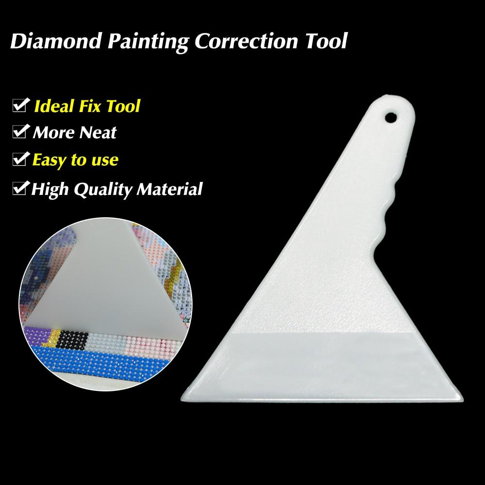 Arts & Entertainment > Hobbies & Creative Arts > Arts & Crafts > Art & Craft Kits - 1-Pieces White Diamond Painting Correction And Adjuster Tools