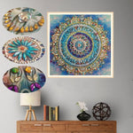 Arts & Entertainment > Hobbies & Creative Arts > Arts & Crafts > Art & Craft Kits - 5D DIY Diamond Painting - Mandala