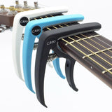 Arts & Entertainment > Hobbies & Creative Arts > Musical Instrument & Orchestra Accessories > String Instrument Accessories > Guitar Accessories > Capos - Slozz Plastic Guitar Capo For Acoustic/Electric Guitar