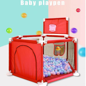 Baby & Toddler > Baby Toys & Activity Equipment > Play Yards - IMBABY  Foldable Baby Playpen Fence Safety Barrier For Infants And Children