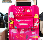 Baby & Toddler > Baby Transport Accessories > Baby & Toddler Car Seat Accessories - Backseat Organizer For Kids Colorful Hanging Car Storage