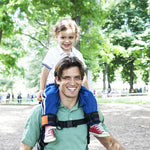 Baby & Toddler > Baby Transport > Baby Carriers - Baby Shoulder Carrier With Ankle Strap Nylon Seat