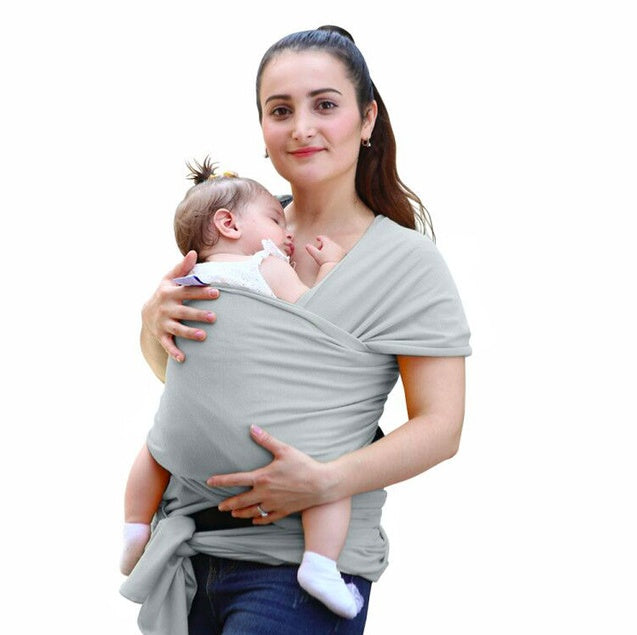 Baby & Toddler > Baby Transport > Baby Carriers - Breathable Baby Sling Carrier