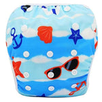 Baby & Toddler > Diapering > Diapers - Baby Swim Diapers Reusable Waterproof Cloth Pool Pants Adjustable Swim Nappies