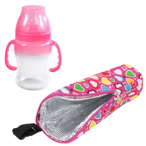 Baby & Toddler > Nursing & Feeding > Baby Bottles - Portable Baby Water Milk Warmers Bottle Thermo Holder Bags