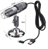 Business & Industrial > Science & Laboratory > Laboratory Equipment > Microscope Accessories > Microscope Cameras - 1000X USB Digital Microscope Camera (Android, Windows, Mac Only)