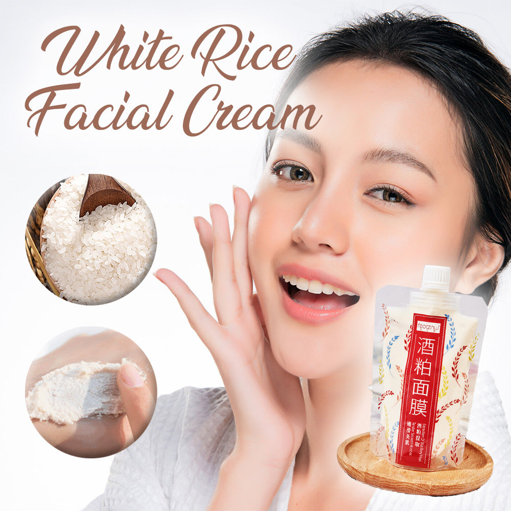 White Rice Facial Cream