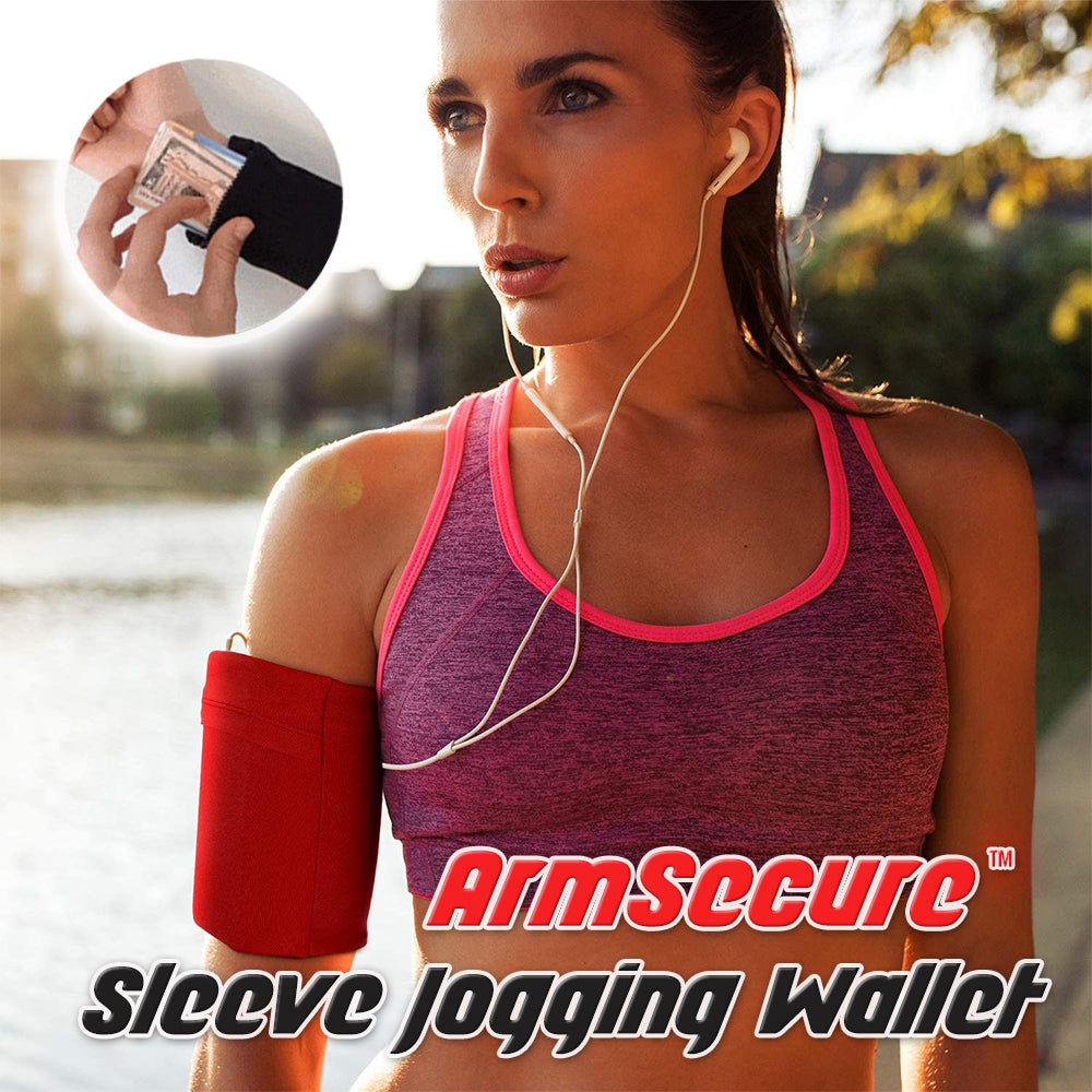 ArmSecure Sleeve Jogging Wallet