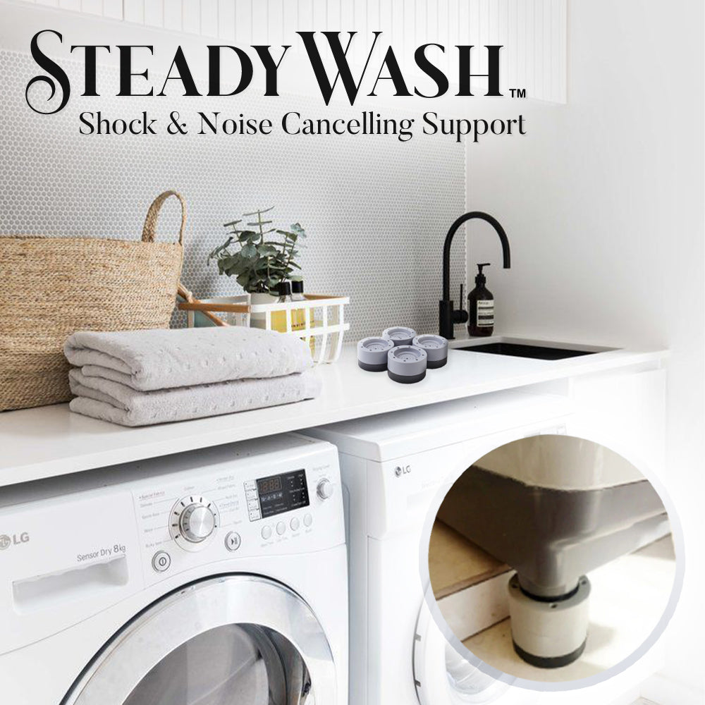 SteadyWash Shock & Noise Cancelling Support
