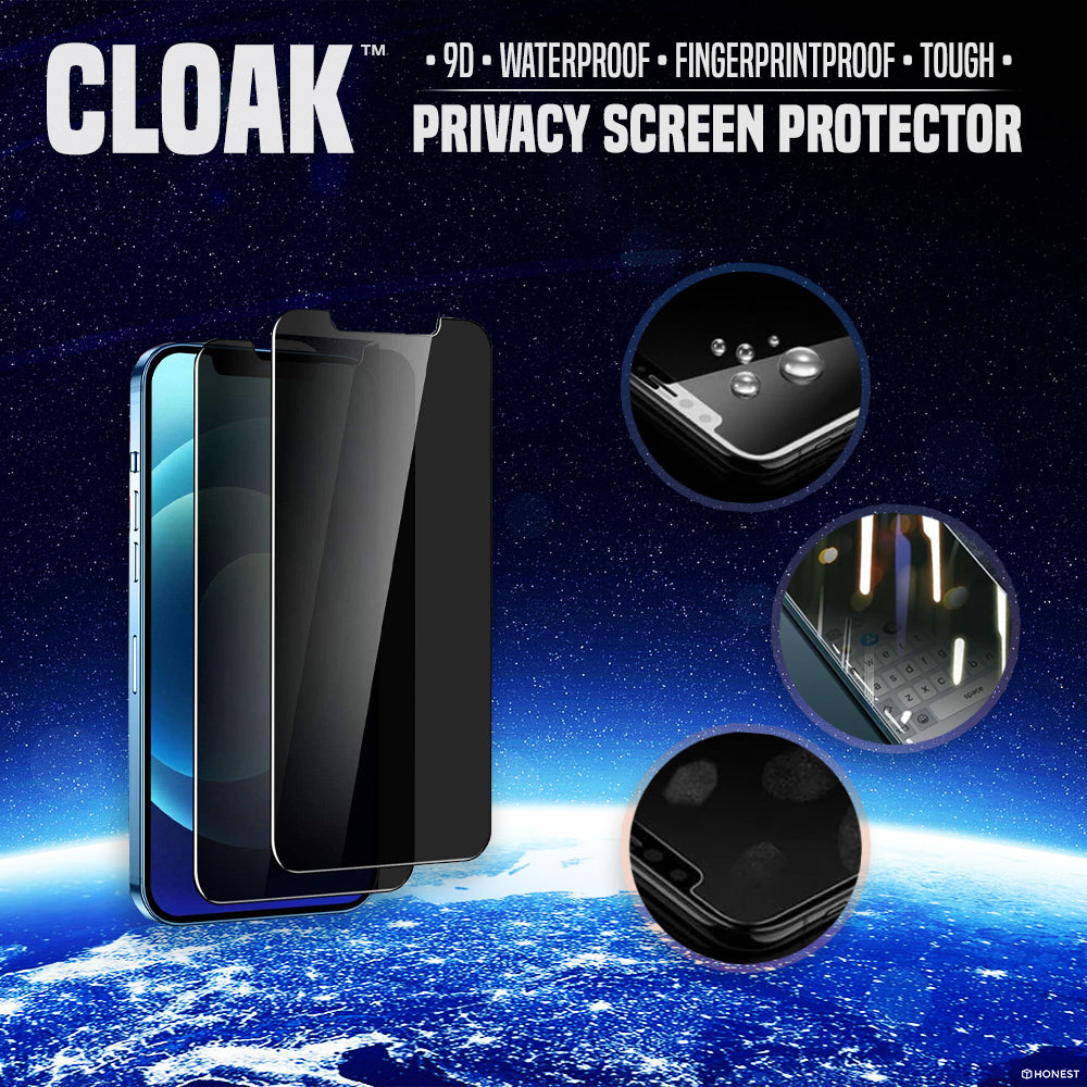 Cloak 9D Privacy Screen Protector