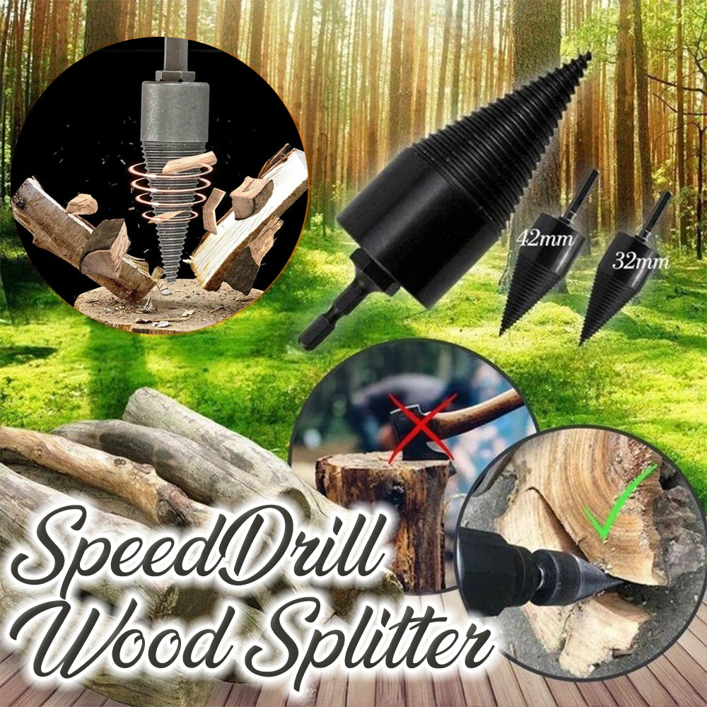 SpeedDrill Wood Splitter