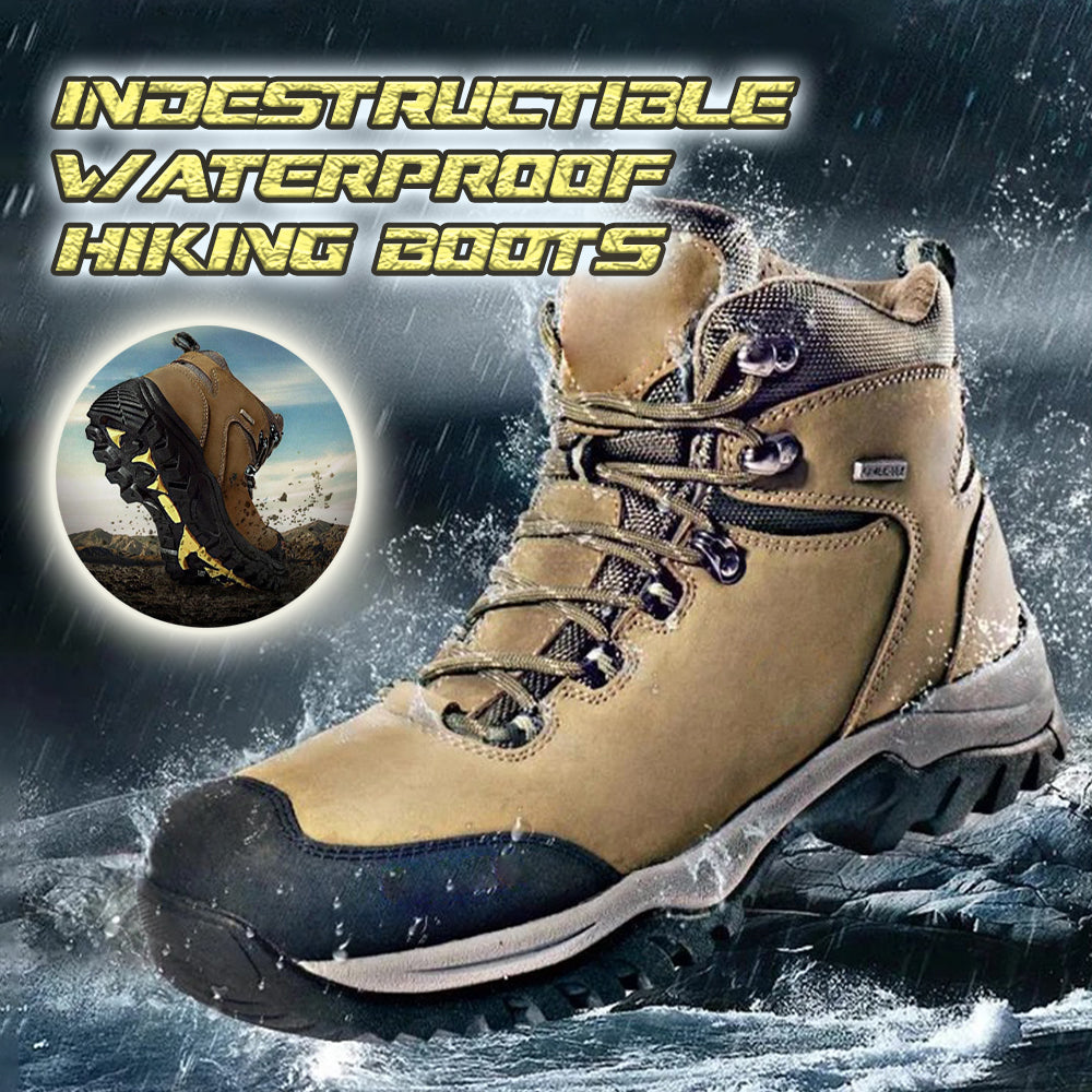 Indestructible Waterproof Hiking Non-Slip High Top Boots
