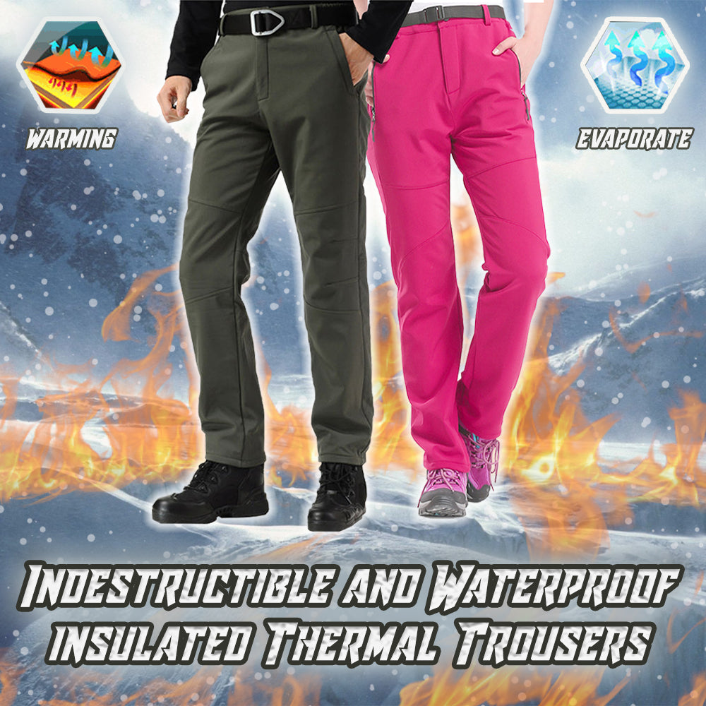Indestructible and Waterproof Thermal Insulated Trousers