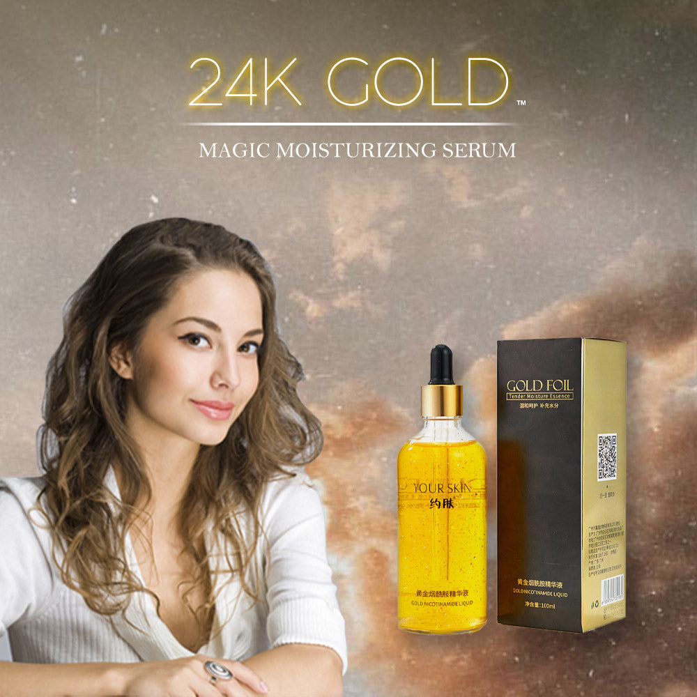 24K Gold Magic Moisturizing Serum