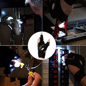 GloveLite LED Glove with Waterproof Light