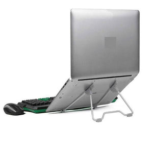 Electronics > Electronics Accessories > Computer Accessories > Computer Risers & Stands - Ergonomic Portable Folding Laptop Stand With Adjustable Angle And Height