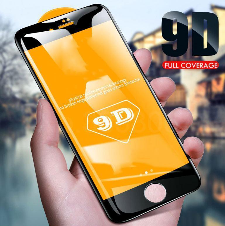 Electronics > Electronics Accessories > Electronics Films & Shields > Screen Protectors - 9D Radiant Protective Tempered Glass (iPhone)