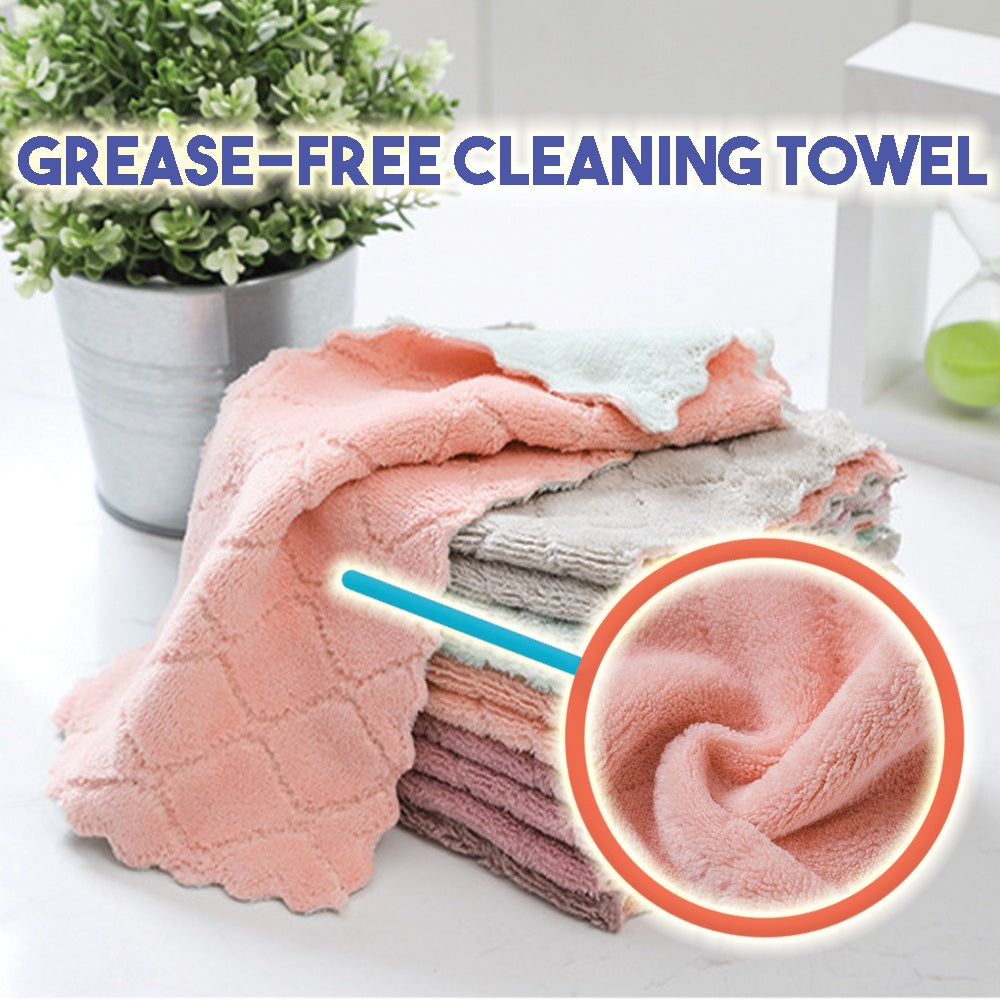 Grease-Free Cleaning Towel
