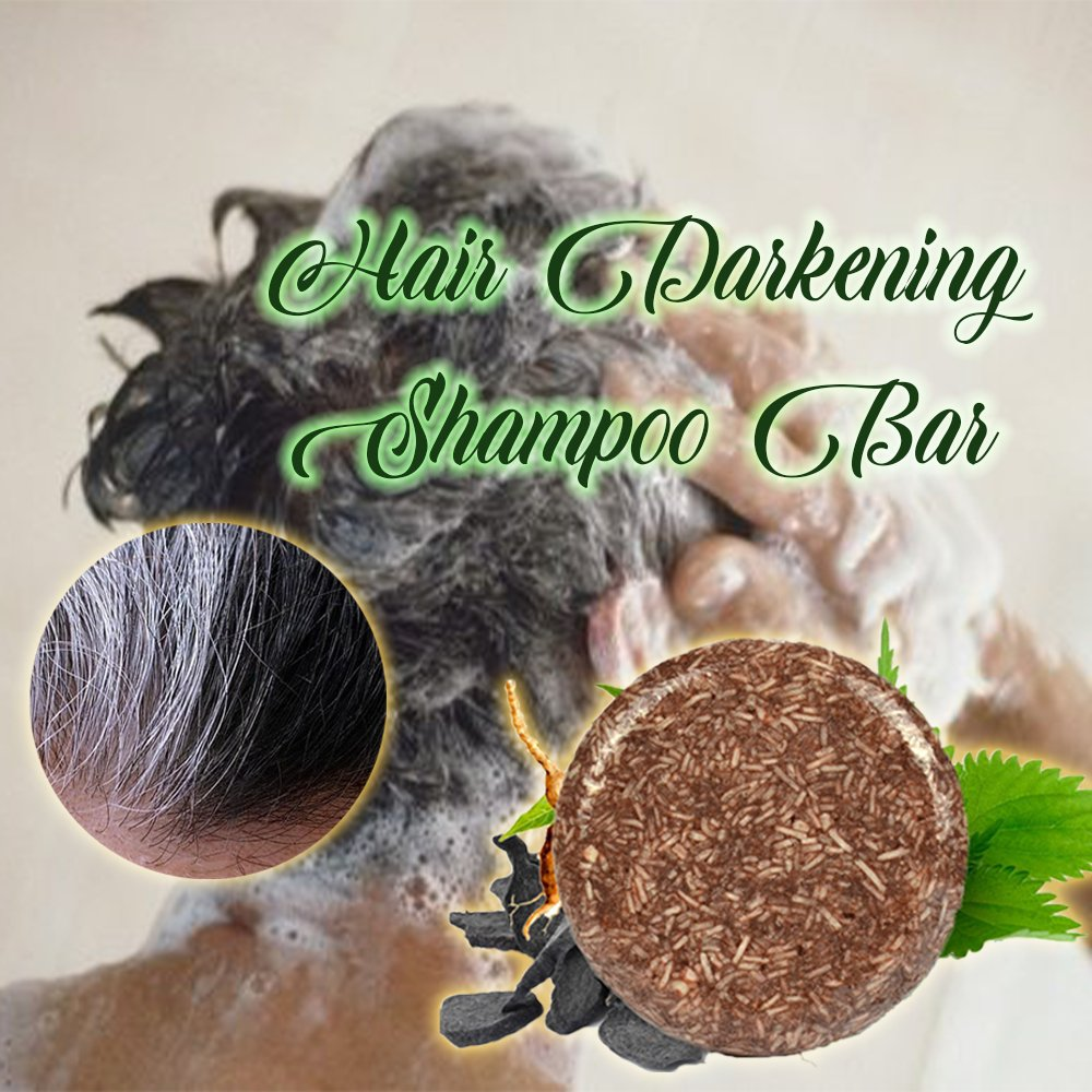 Hair Darkening Shampoo Bar