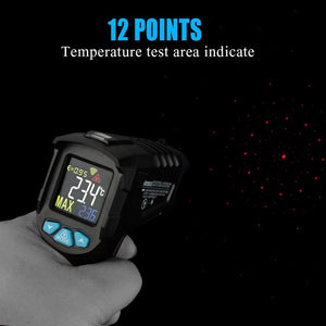 Hardware > Tools > Measuring Tools & Sensors > Infrared Thermometers - MESTEK IR01 Digital Infrared Thermometer Humidity Meter Black