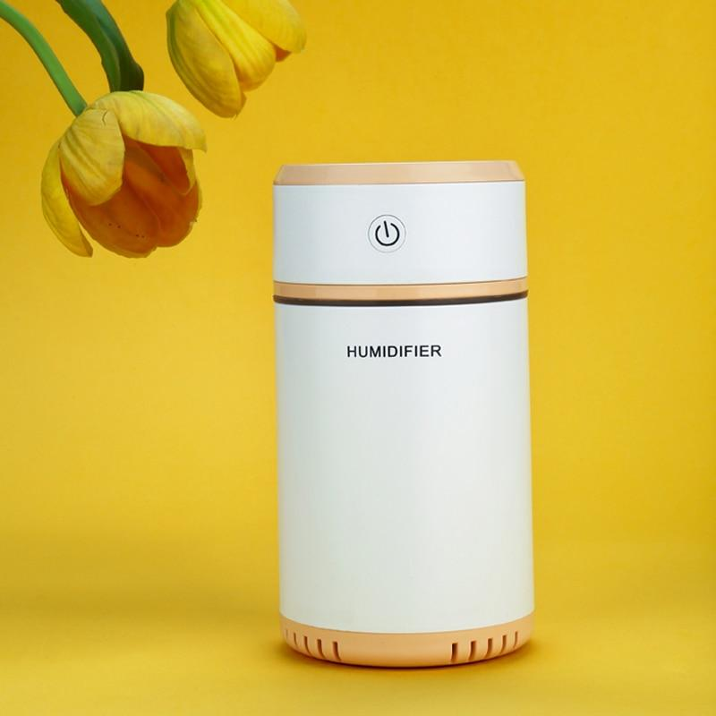 Home & Garden > Decor > Home Fragrances > Air Fresheners - NANUM Mini Pulling Diffuser Essential Oil Humidifier Aroma LED Night Lamp Car Freshener