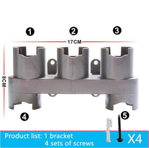 Home & Garden > Household Appliance Accessories > Vacuum Accessories - Storage Bracket For Dyson V7 V8 V10 Vacuum Cleaner Parts