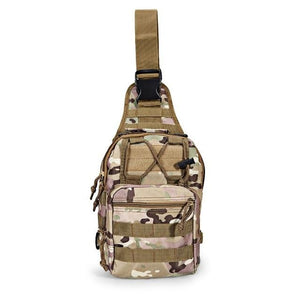 Luggage & Bags > Backpacks - 600D Outdoor Military Camping Hiking Tactical Shoulder Sling Bag Backpack Utility Camping Travel Hiking Trekking Bag
