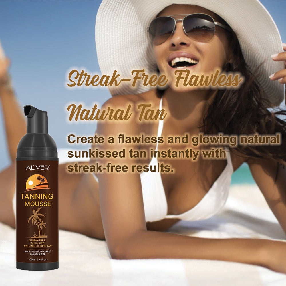 Natural Glow Self-Tanning Mousse