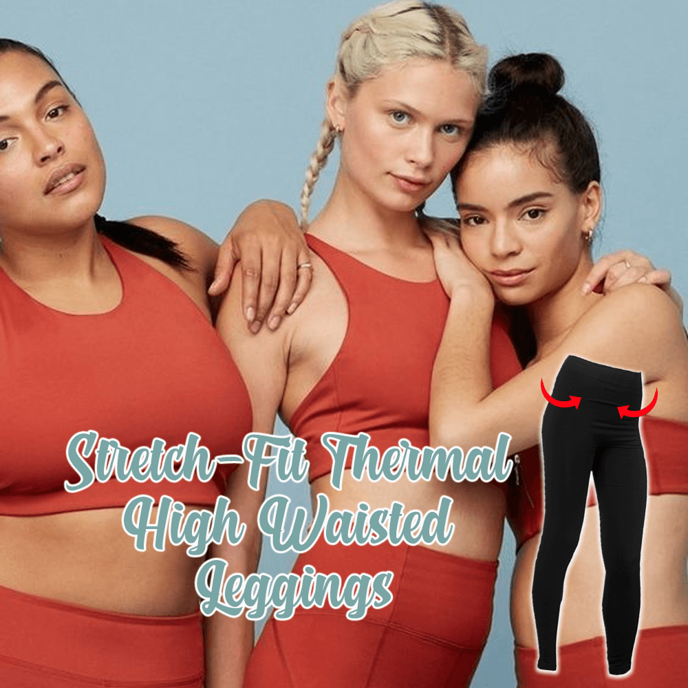 Stretch-Fit Thermal High Waisted Leggings