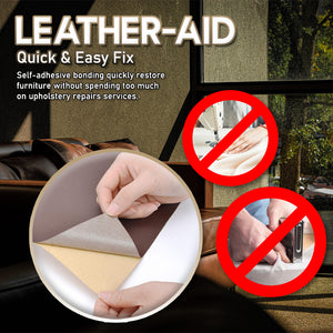 Leather-Aid Adhesive Repair Patch