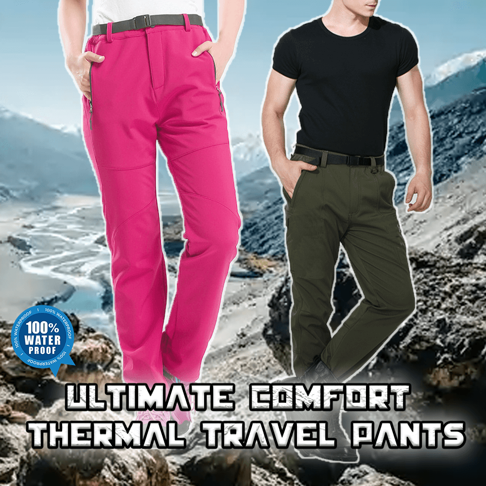 Ultimate Comfort Thermal Travel Pants