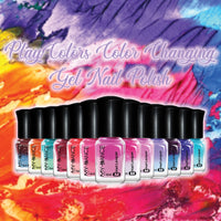 PlayColors™ Color Changing Gel Nail Polish