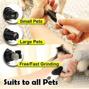 Rechargeable Painless Pets Nail Grinder