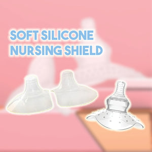 Soft Silicone Nursing Shield