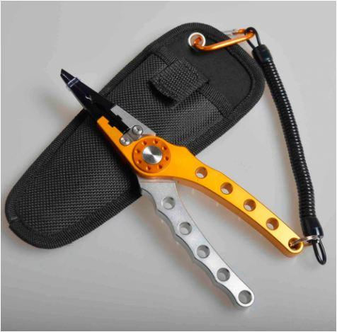 Sporting Goods > Outdoor Recreation > Fishing > Fishing Hook Removal Tools - Stainless Steel Pliers Fishing Line Cutter