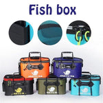 Sporting Goods > Outdoor Recreation > Fishing > Tackle Bags & Boxes - Multi-Functional Folding Fishing Bucket