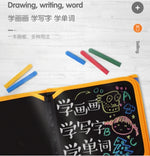 Toys & Games > Toys > Art & Drawing Toys - Reusable Portable Coloring Chalkboard Animal Marine Life Drawing Doodle Blackboard