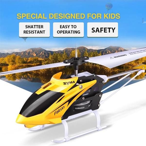 Toys & Games > Toys > Remote Control Toys > Remote Control Helicopters - Syma W25 Mini Remote Control Helicopter  With Gyro Crash Resistant For Kids