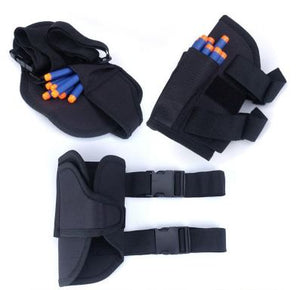 Toys & Games > Toys > Toy Weapon & Gadget Accessories - Kids Tactical Waist Bag And Dart Wrister Kit For Nerf Guns N-strike Elite Series Blaster