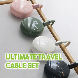 Ultimate Travel Cable Set