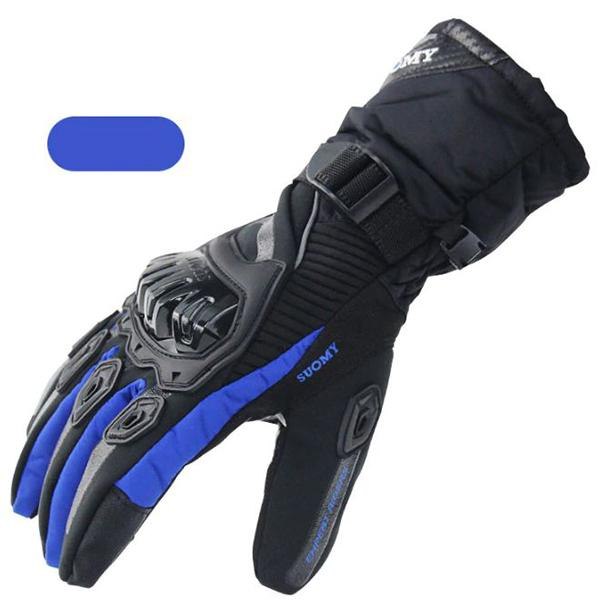 Vehicles & Parts > Vehicle Parts & Accessories > Vehicle Safety & Security > Motorcycle Protective Gear > Motorcycle Gloves - SUOMY PRO-BIKER Waterproof Warm Winter Motorcycle Gloves With Touch Screen Protective