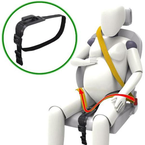 Vehicles & Parts > Vehicle Parts & Accessories > Vehicle Safety & Security > Vehicle Safety Equipment > Vehicle Seat Belts - Maternity Car Safety Bump Belt