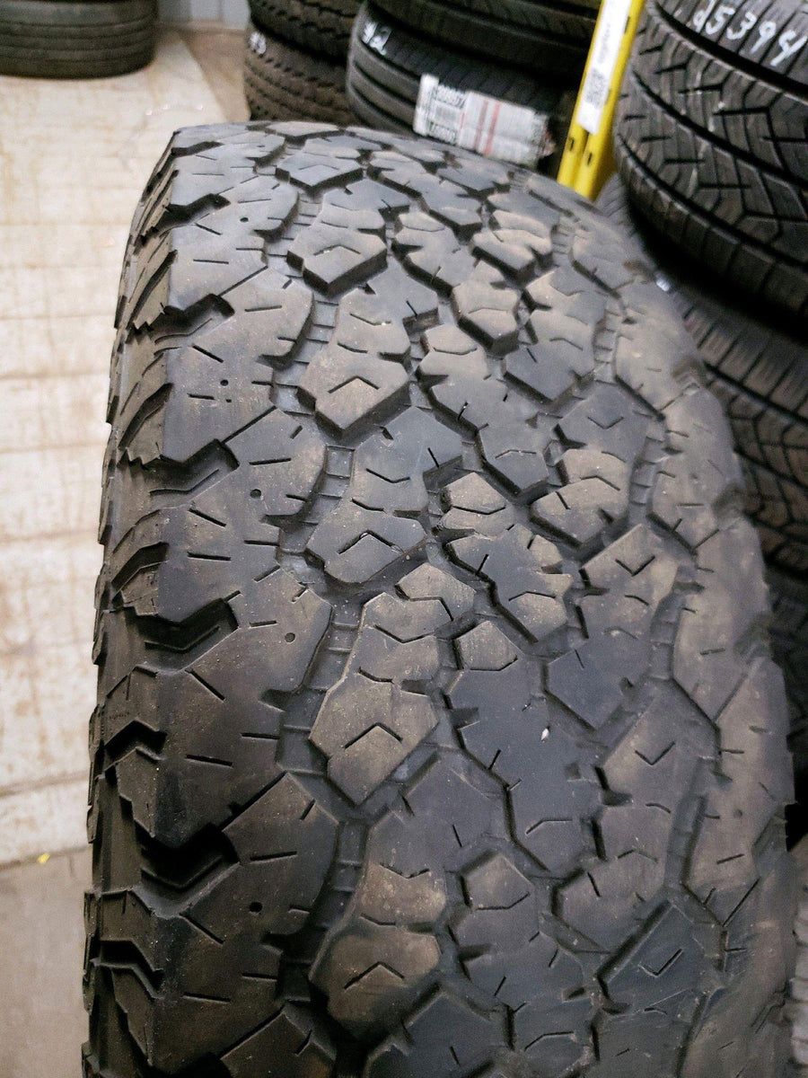 2 x LT265/70R17 121/118Q General Grabber AT2